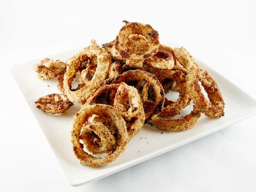 Baked Onion Rings: Appetizers Snacks, Baked Onion Rings, Ovens Fries, Mmmmm Snacks, Recipes, Baking Onions Rings, Ovens Bak Onions, Nom Nom, Kacey Kitchens