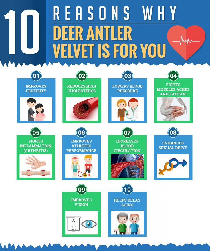 Infographic: 10 Reasons Why Deer Antler Velvet is For You