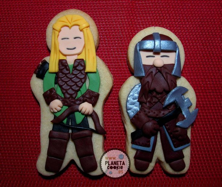17 Best Images About Lord Of The Rings/The Hobbit Cookies