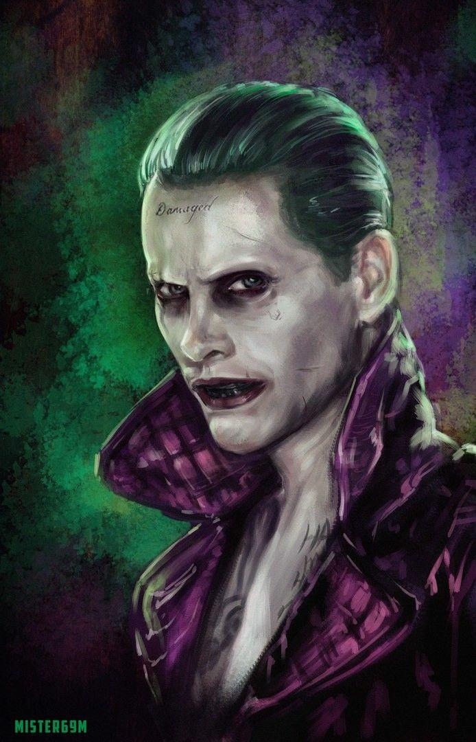 #Suicide #Squad #Fan #Art. (Joker) By: Michael Smirnov. ÅWESOMENESS!!!™ ÅÅÅ+