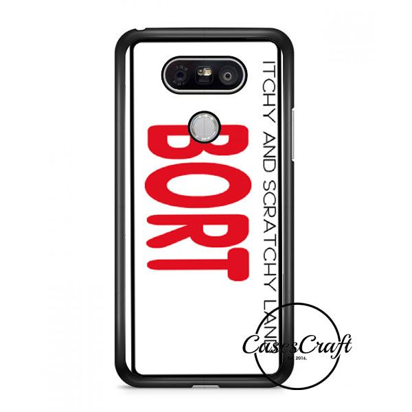 Bort License Plate Cover Lg G6 Case | casescraft