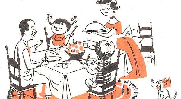 Guida della brava casalinga anni '50
