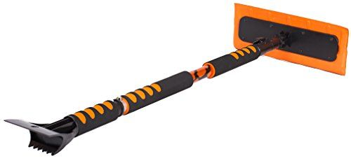 """BirdRock Home 55"""" Extendable Snow MOOver and Ice Scraper with Foam Grip 