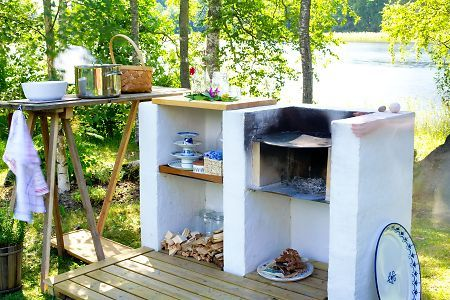 outdoor kitchen - simple.