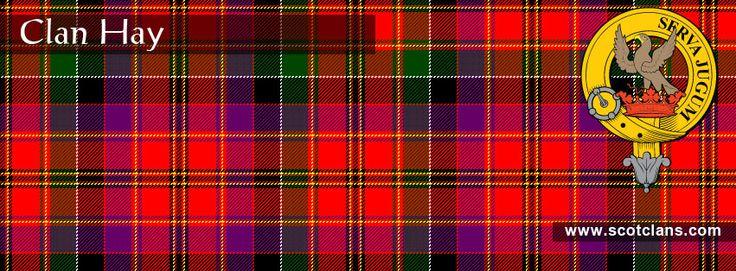 Clan Hay Tartan And Crest