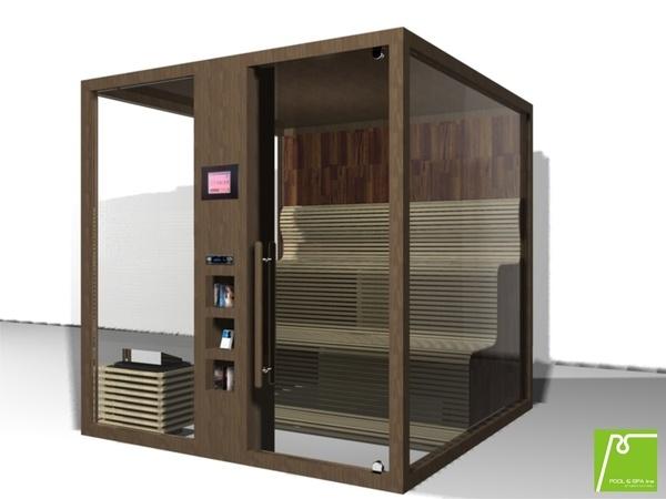 Sauna Cubo by Vesela Savova, via Behance
