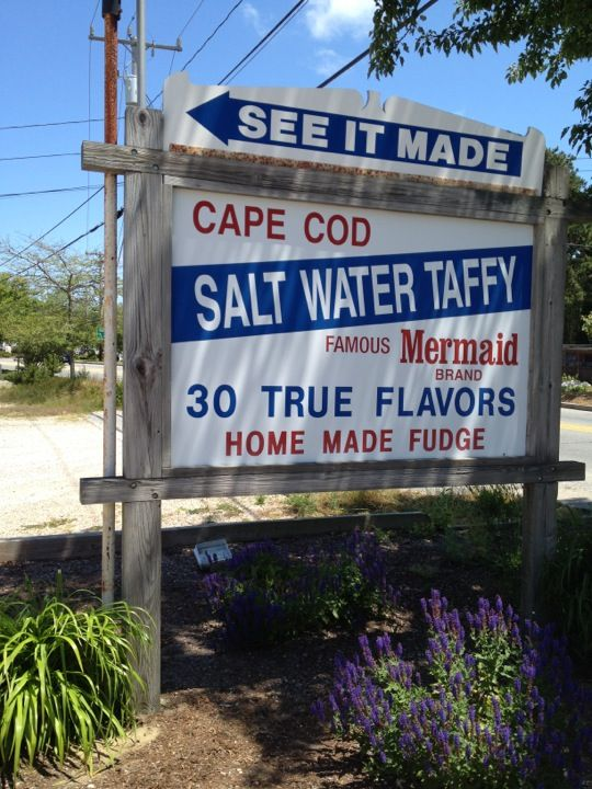 Cape Cod Vacation Ideas Part - 23: Cape Cod Salt Water Taffy In South Yarmouth, MA Http://www.
