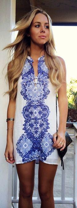 bree kleintop // O'Neill Journey Beach Dress
