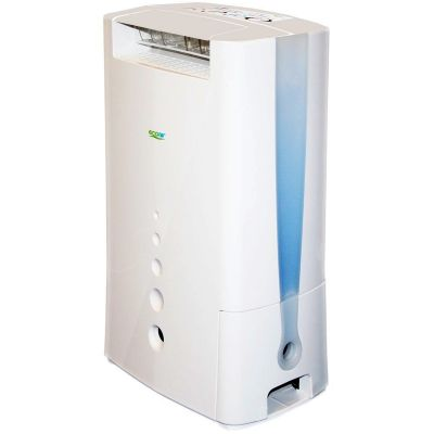 Shop EcoAir DD128FW 8 Litre Desiccant Dehumidifier With Ioniser And Silver Filter at Atlantic Electrics #Ecoair #dehumidifier #cooler #electronics