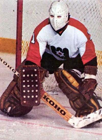 Maine Mariners goaltending history : Pelle Lindbergh//crazy to think that the goalie masks looked like this when i first started watching hockey as a kid