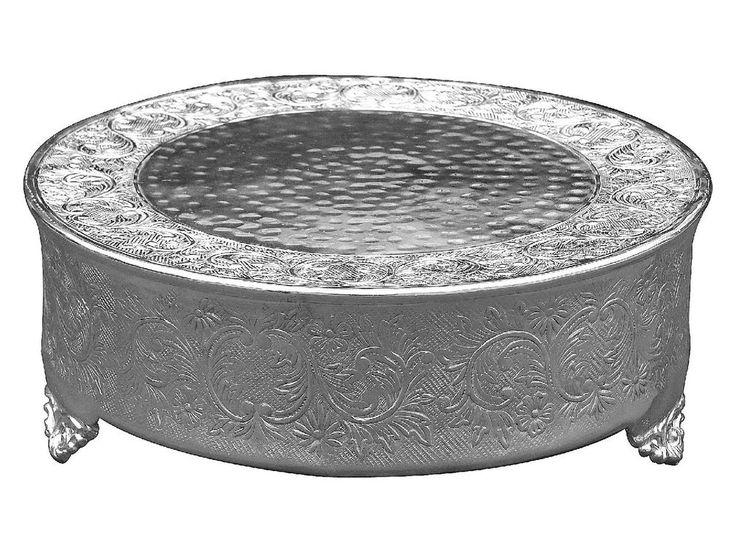 Die 25 besten Silver round wedding cakes Ideen auf Pinterest