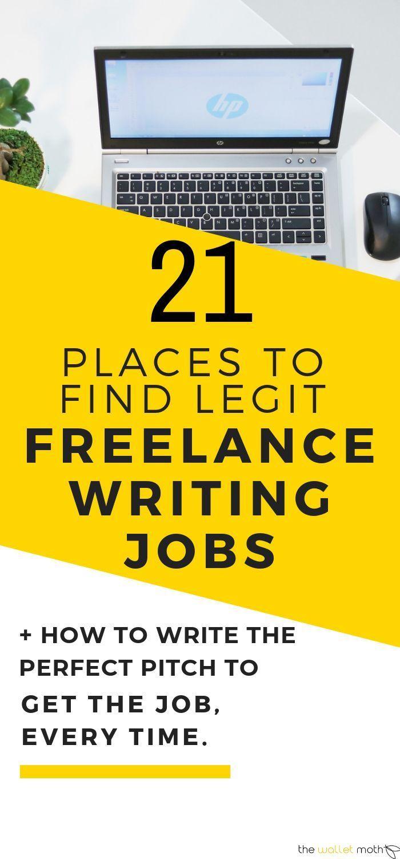 21 Ways To Find Freelance Writing Jobs Online Today Writing Jobs Freelance Writing Freelance Writing Jobs