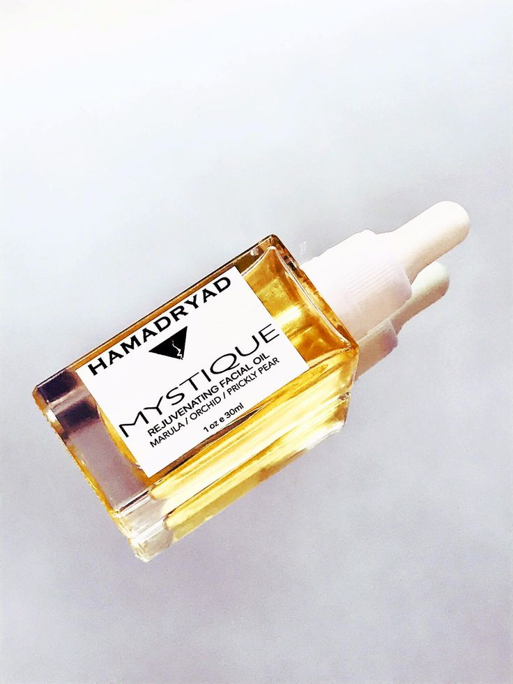 MYSTIQUE Anti aging Facial Oil Serum with Marula Oil & Royal Orchid / Natural / Organic / Anti wrinkle / Organic Skin Care