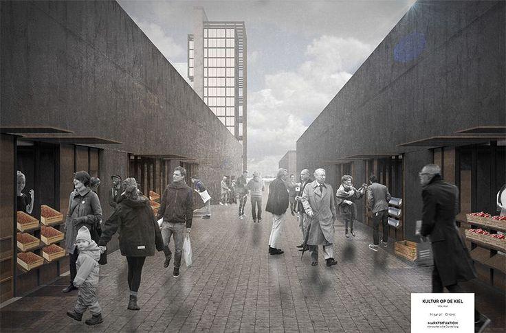 Abschlussarbeit: Kultur op de Kiel , Fin Morten Ohlsen/ Technische Universität Braunschweig - Campus Masters | BauNetz.de