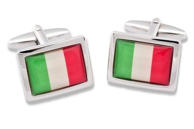 Gemelli da polso BANDIERA ITALIANA