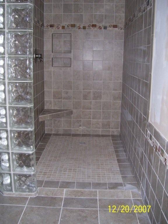 Best Custom Tiled Showers Images On Pinterest Tiled Showers