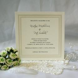 Svatební oznámení W560