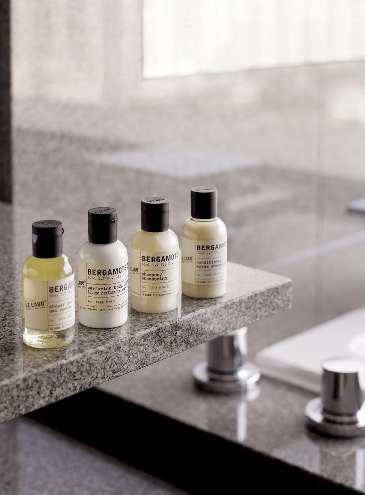 Le Labo bath amenities at Park Hyatt Busan.