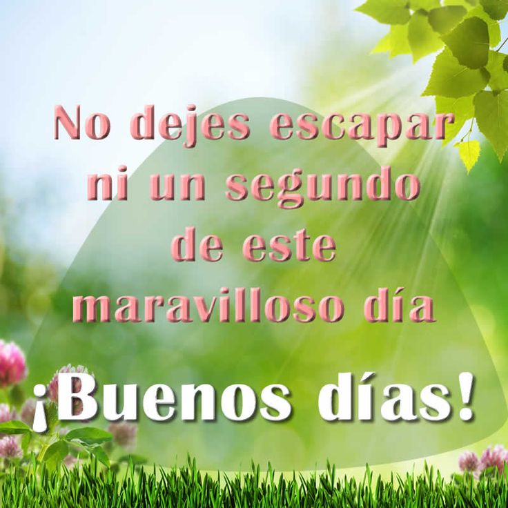 146 best Buenos Días images on Pinterest | Spanish quotes, Good ...