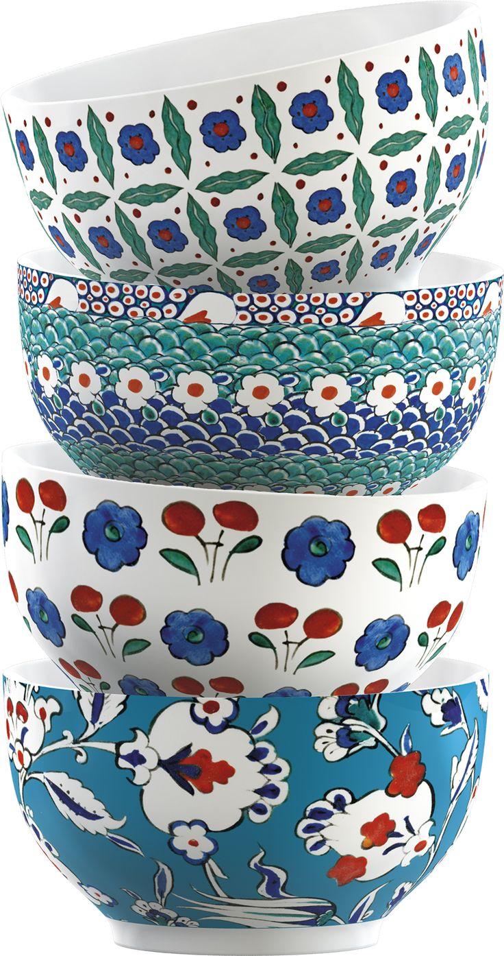 Victoria and Albert Iznik Stacking Bowls