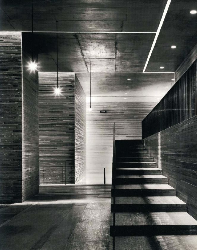 ARCHITECTURE   DETAILS   Photo Credit: Unknown. (please let me know orignal source so that I can include appropriate credit) Adore the work of #PeterZumthor. Visiting #TheThermeVals in person trully changed my life, to experience illuminating an interior with intention at its finest.