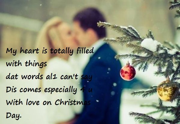 cute romantic christmasdp for lovers , christmas love messages for boyfriend , girlfriend