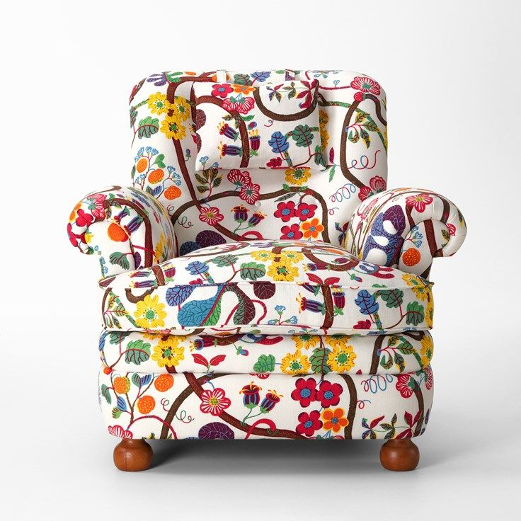 Arm Chair 336 was designed by Josef Frank in 1934. He designed his furniture to ensure maximum comfort for users. - Armchair 336, , Josef Frank