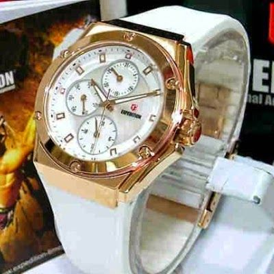 Jam Tangan Expedition E-6391 White Rosegold RP 875,000 | BB : 21F3BA2F | SMS :083878312537