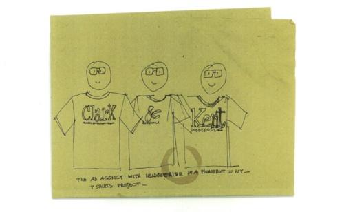 Clark&Kent t-shirt project