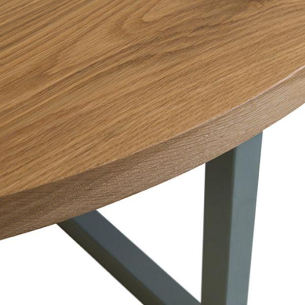 MARK TUCKEY steel cross base coffee table