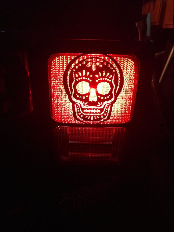 Jeep Tail Light Cover Made To Order Item Jeep Tj 1997 2006