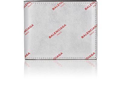 BALENCIAGA Logo Slim Square Wallet. #balenciaga #wallet