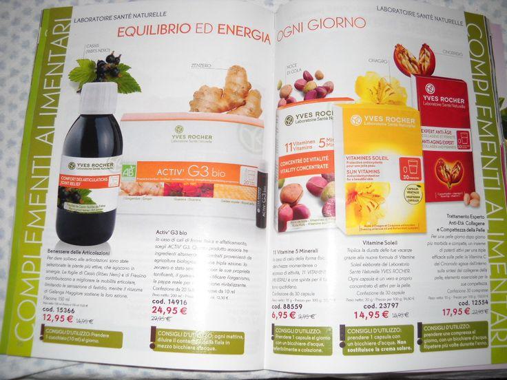 i complementi alimentari che vi aiutano  ad avere equilibrio e energia ogni giorno