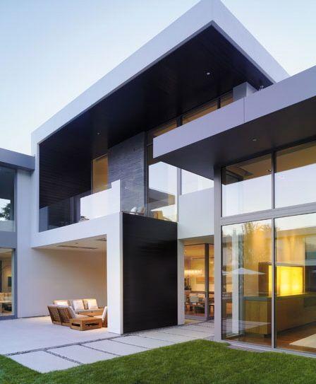 40 Fotos De Casas Modernas Para Você Se Apaixonar. Modern Home DesignModern  ...