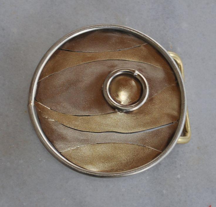 "Handmade belt buckle in brass and alpaca ""metales casades"" by TakisBrass on Etsy"