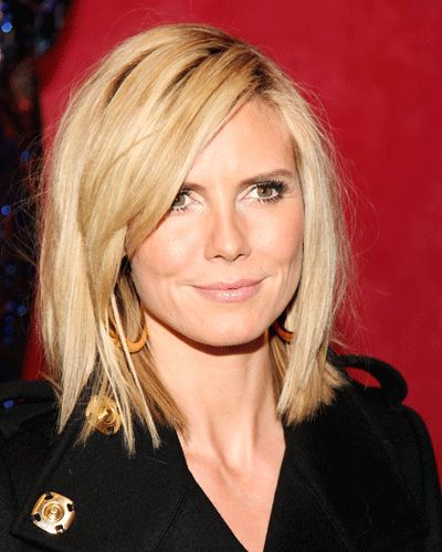 Heidi klum - maybe this haircut??