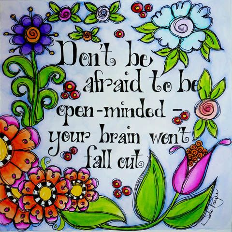 """Don't Be Afraid"" by Debi Payne of Debi Payne Designs"
