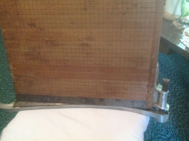 "INDUSRIAL PHOTO/MATERIALS19"" x 18"" GUILLOTINE PAPER CUTTER-Works-Olson MFG CO NR #OlsonMfgCo"