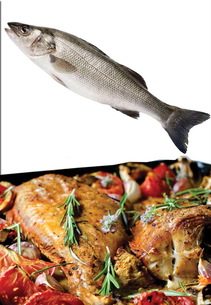 """Per non dimenticare il pesce!  Amate il pesce e non la carne? La ricetta per voi e a pagina 18 do BBQ Magazine: Branzino al forno al profumo di rosmarino.  Chiamato """"lupus"""" dagli antichi romani a causa della sua voracità, è da sempre stato considerato un alimento pregiato, ricco di proteine, soprattutto di omega 3, e fondamentale per una dieta equilibrata. Il branzino, chiamato anche spigola nel versante adriatico, ha carni bianche e magre, sode e profumate che resistono bene alla cottura al…"""