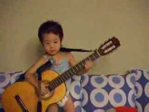 Asian Baby Sings Hey Jude 101