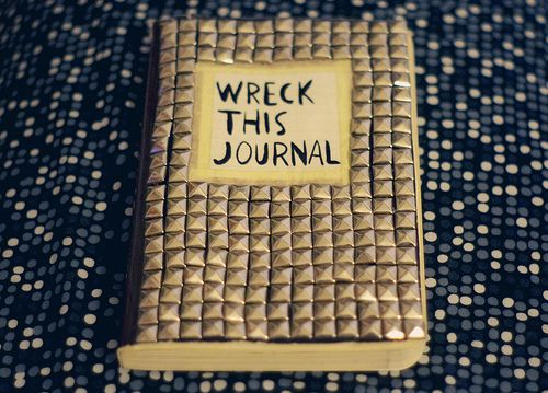 Wreck This Journal Book Cover Ideas : Best images about wreck this journal ideas