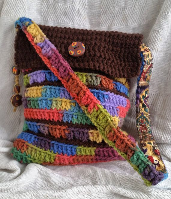 Check out this item in my Etsy shop https://www.etsy.com/listing/264044723/earthy-rainbow-bag-crocheted-shoulder