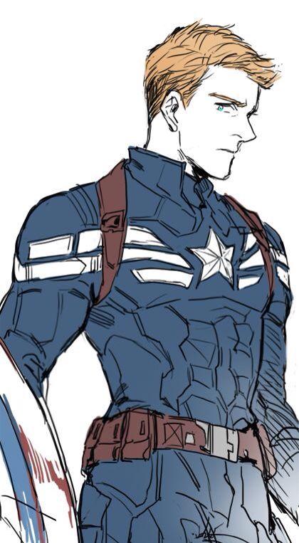Captain America | Captain america drawing, Captain america ...