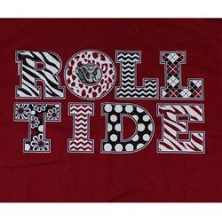 T-Shirts - Alabama Crimson Tide - Unique Alabama Stuff