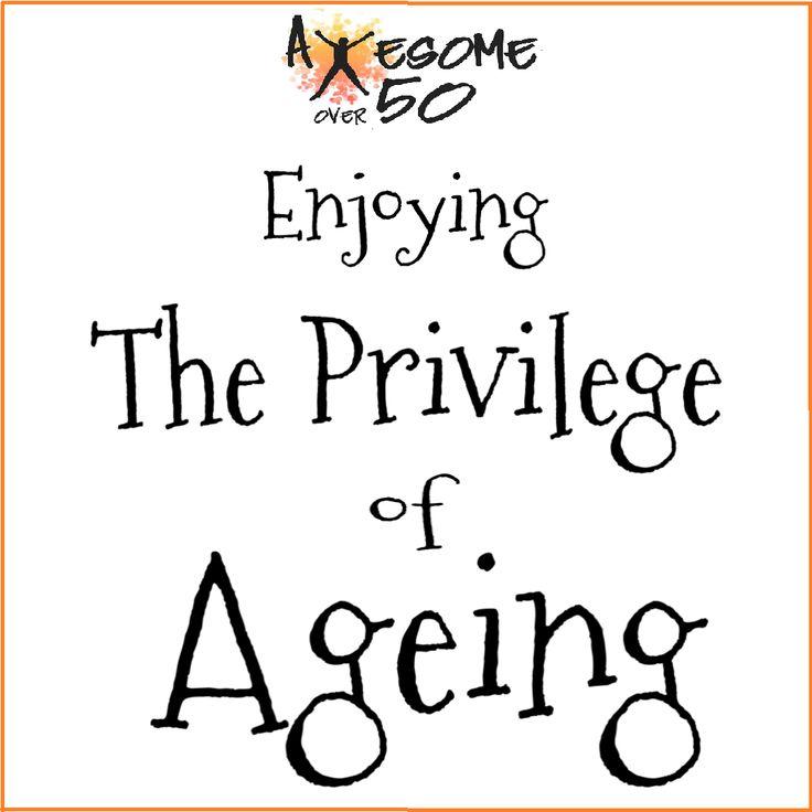 As We Grow Older and Wiser We Begin to    Growing old