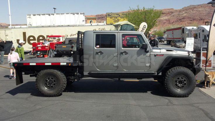 Jeep Truck Conversion Jeep 2500 Heavy Duty Pickup Truck
