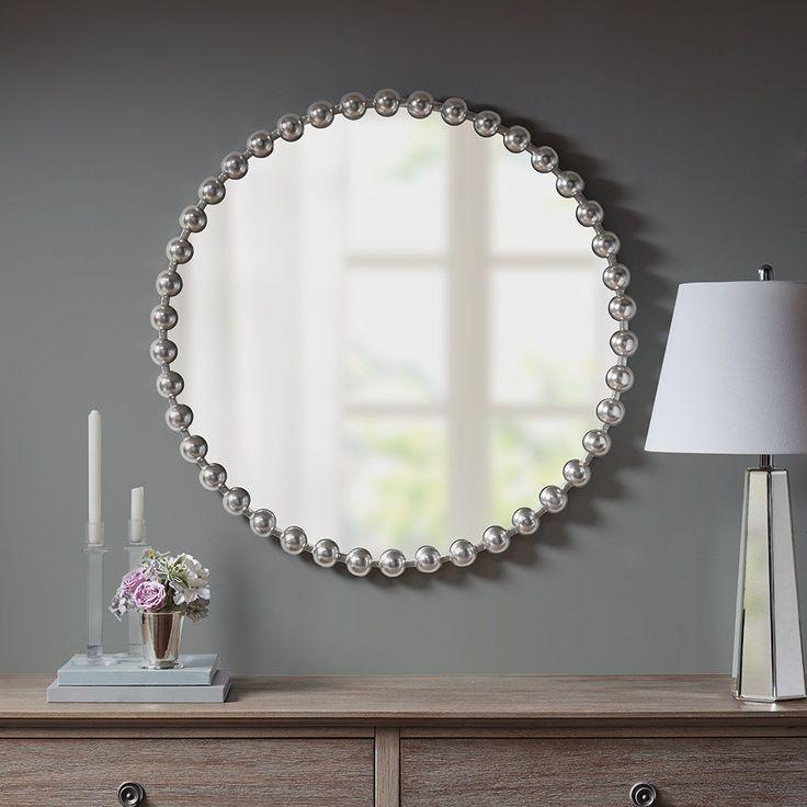 Marlowe Decor Mirror By Madison Park Signature Mirror Decor Beaded Mirror Accent Mirrors