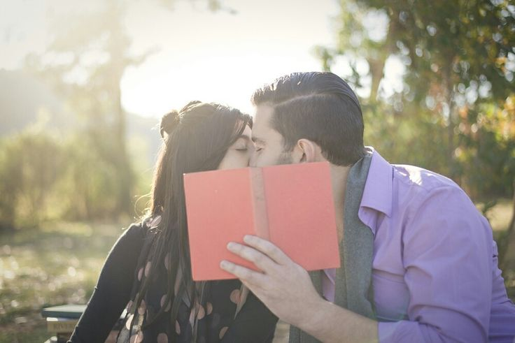 For my love of books Val created this enchanted forest of books themed shoot for our engagement