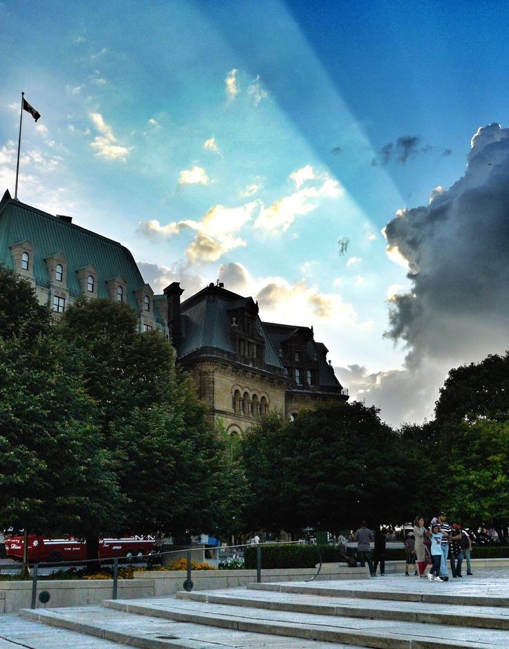 Beautiful shot of a beautiful city. #Ottawa #Canada #scenery #Photography