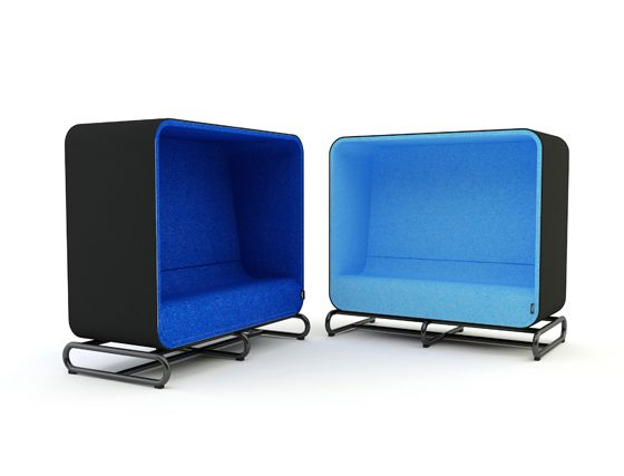 The In-betweeners, a new series of office furniture systems